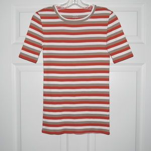 NWT J. Crew Perfect Fit Striped T-Shirt XS